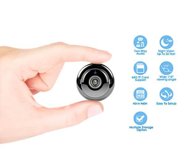 Camera quan sát WiFi Mini Camera